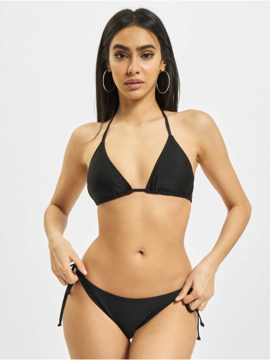 Urban Classics Bikini Ladies Recycled Triangle black