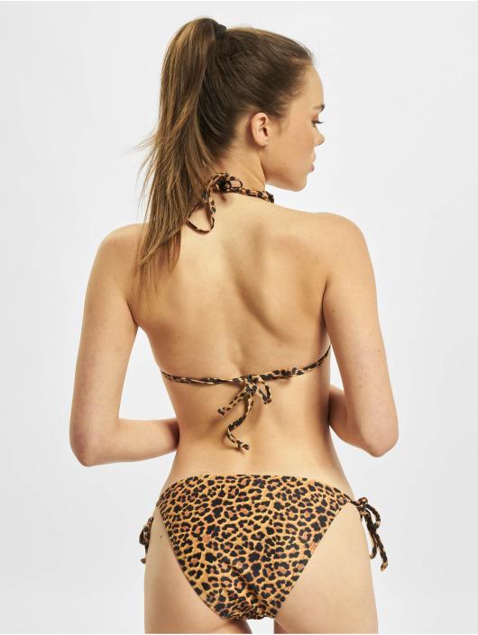Urban Classics Bikini Animal brazowy
