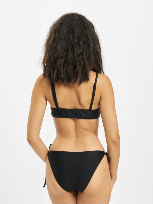 Urban Classics Bikini Spaghetti Strape czarny