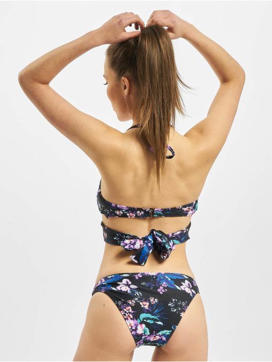 Urban Classics Bikini Ladies Draped Pattern fioletowy