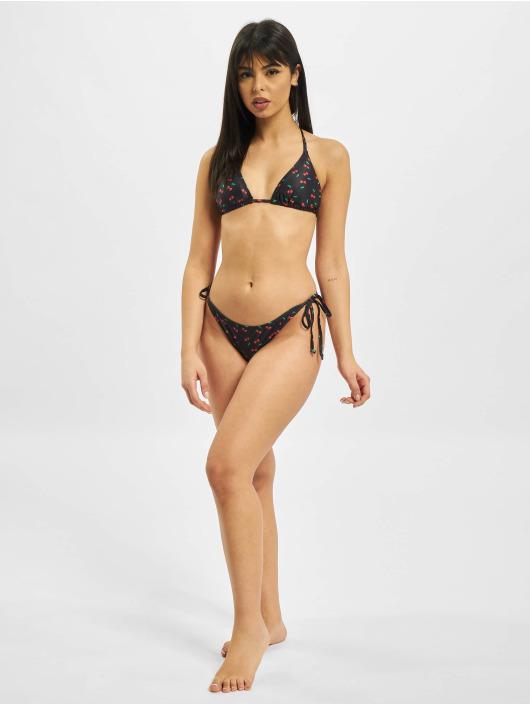 Urban Classics Bikini Pattern nero