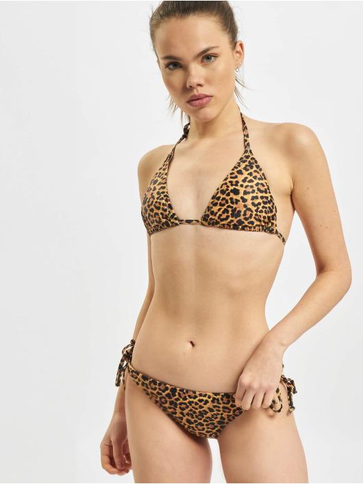 Urban Classics Bikinis Animal braun