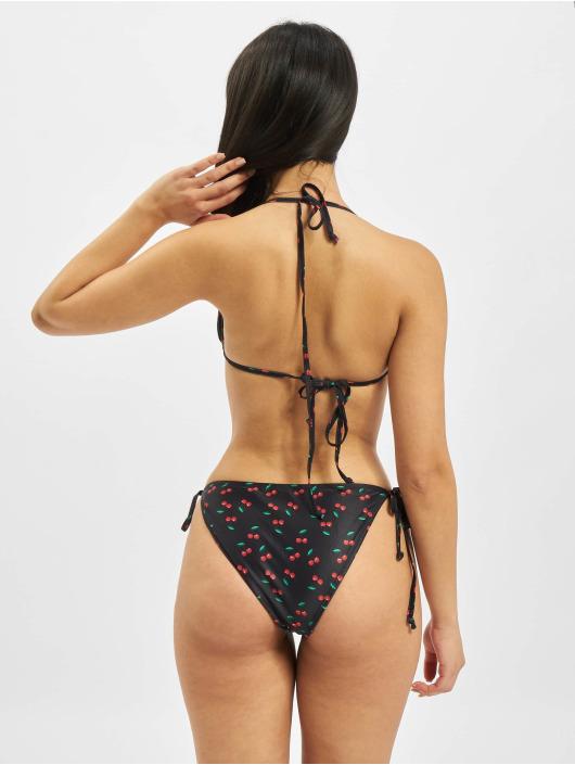 Urban Classics Bikinis Pattern schwarz