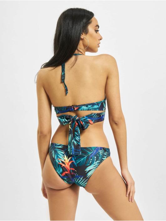 Urban Classics Bikinis Ladies Draped Pattern schwarz
