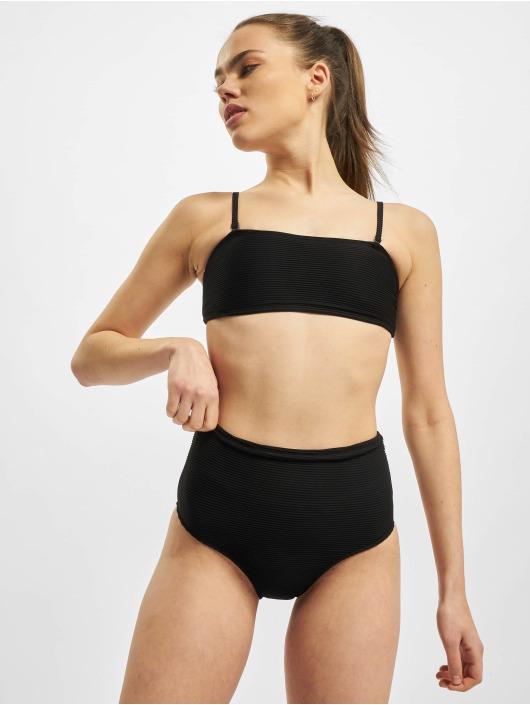 Urban Classics Bikinis Ladies High Waist Bandeau svart