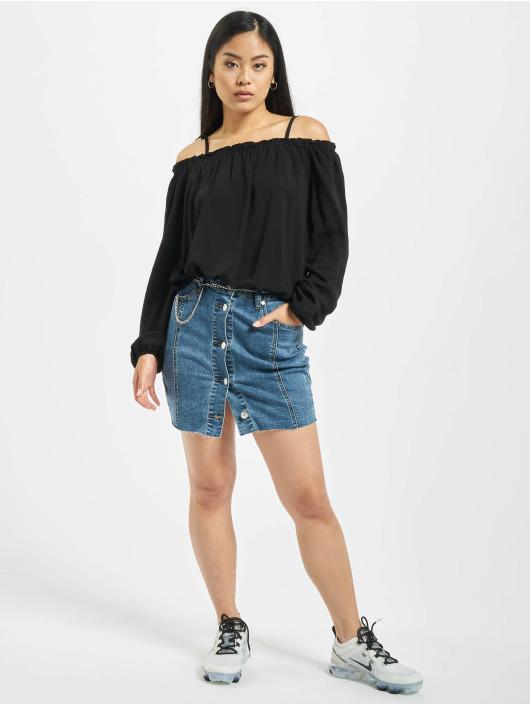 Urban Classics Blouse/Tunic Cold Shoulder black