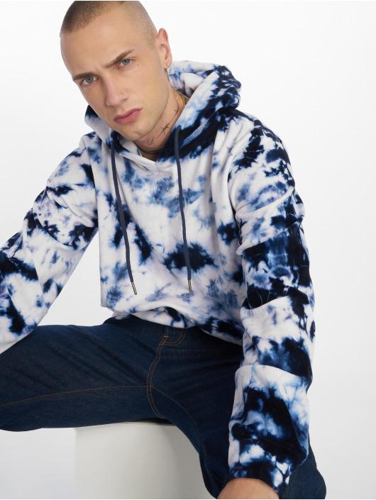 Urban Classics Bluzy z kapturem Velvet Tie bialy