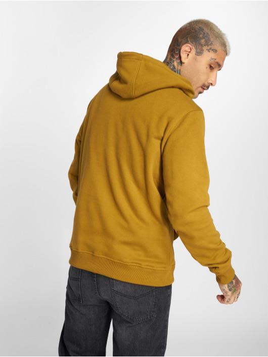 Urban Classics Bluzy z kapturem Basic brazowy