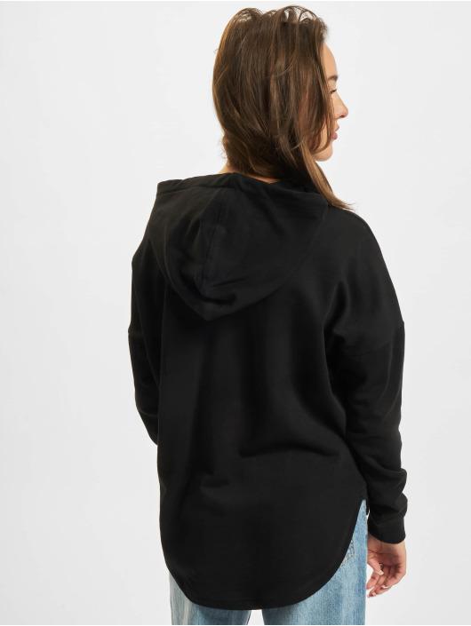 Urban Classics Bluzy z kapturem Ladies Oversized Terry czarny