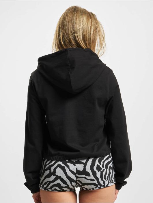 Urban Classics Bluzy z kapturem Heavy Jersey czarny