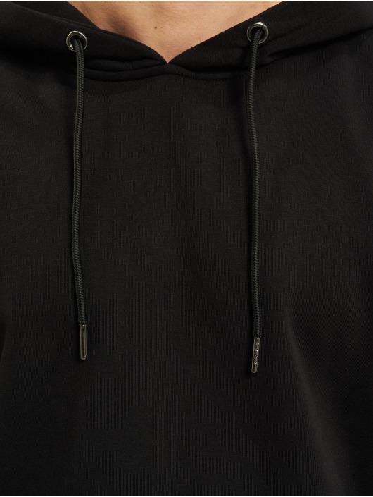 Urban Classics Bluzy z kapturem Basic Terry czarny