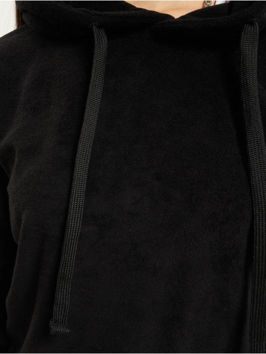 Urban Classics Bluzy z kapturem Towel czarny
