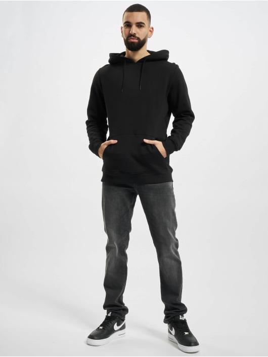 Urban Classics Bluzy z kapturem Organic Basic czarny