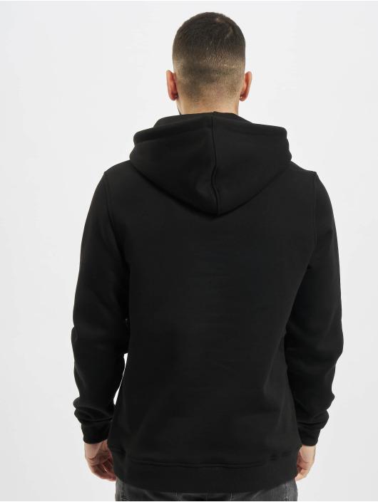 Urban Classics Bluzy z kapturem Contrast Drawstring czarny