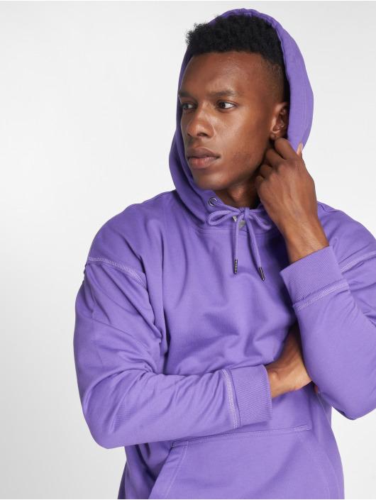 Urban Classics Bluzy z kapturem Oversized Sweat fioletowy