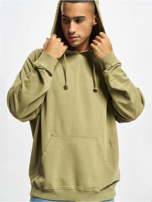 Urban Classics Bluzy z kapturem Overdyed khaki