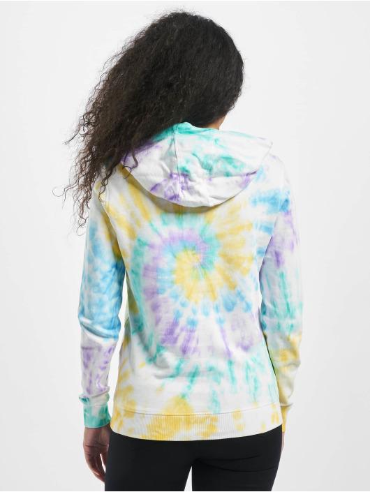 Urban Classics Bluzy z kapturem Ladies Tie Dye kolorowy