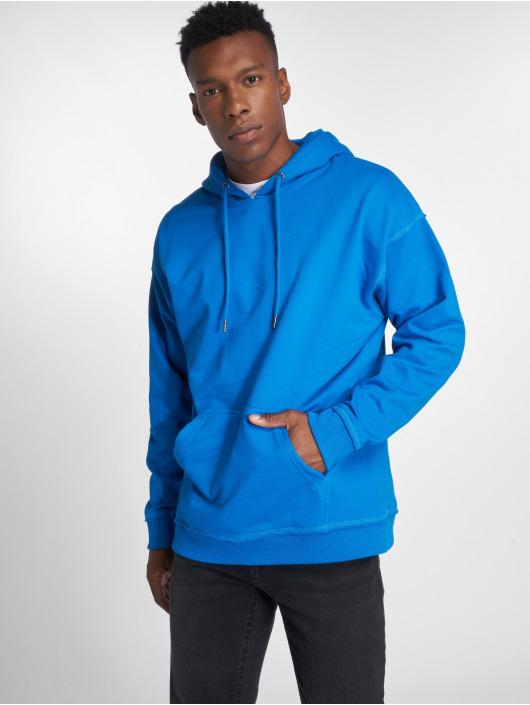 Urban Classics Bluzy z kapturem Oversized Sweat niebieski