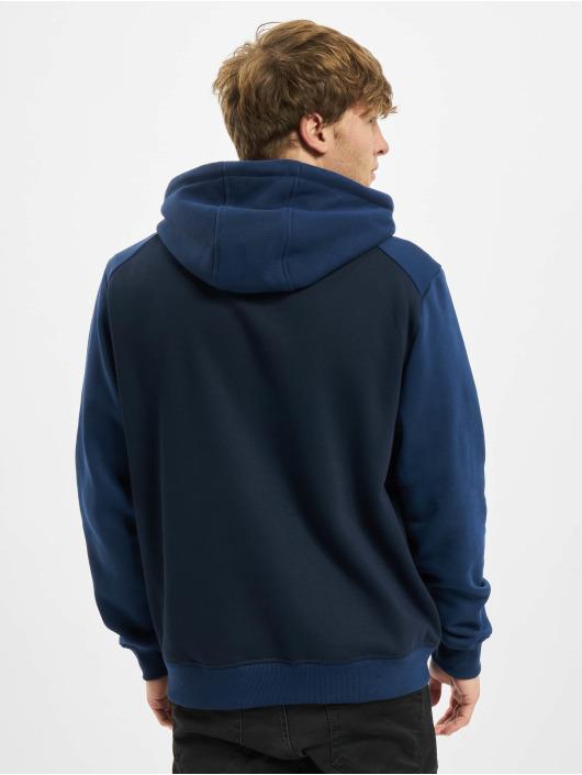 Urban Classics Bluzy z kapturem 2-Tone Fake Raglan niebieski