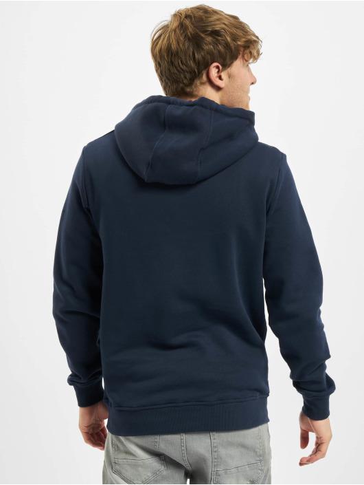 Urban Classics Bluzy z kapturem Organic Basic niebieski