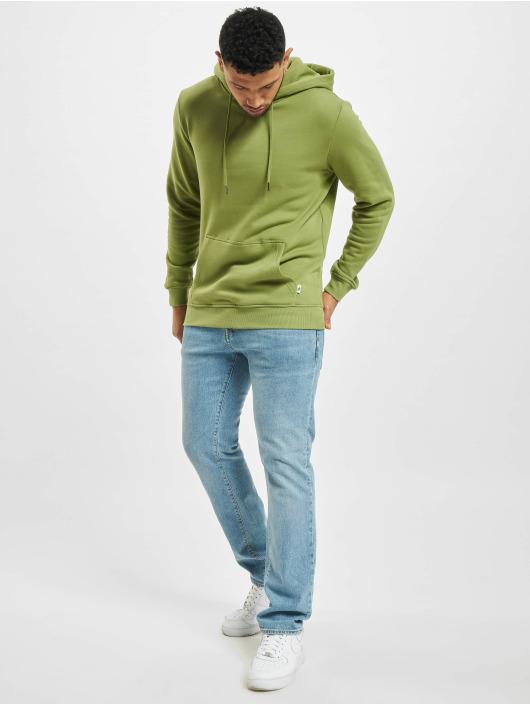 Urban Classics Bluzy z kapturem Organic Basic oliwkowy
