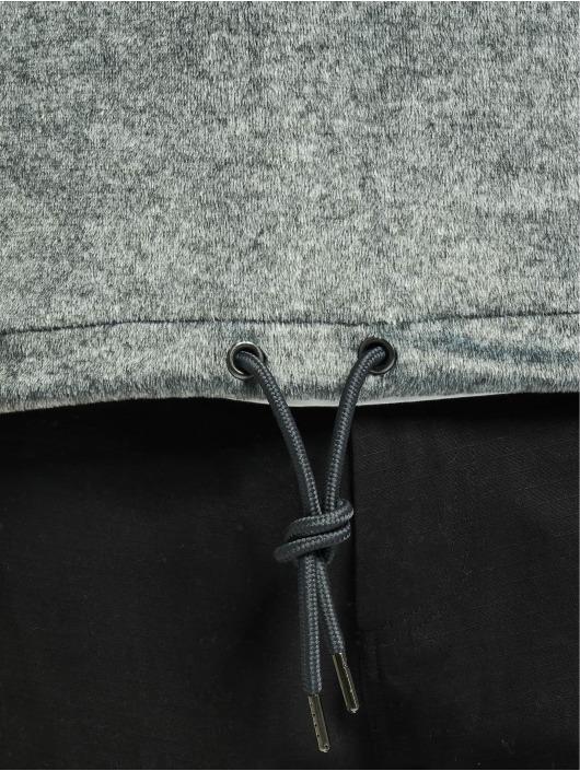 Urban Classics Bluzy z kapturem Plushy szary