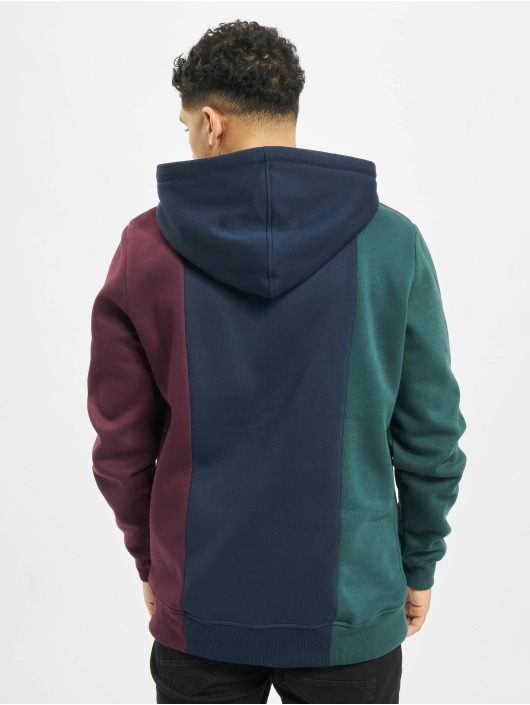 Urban Classics Bluzy z kapturem Tripple zielony