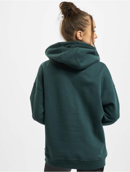 Urban Classics Bluzy z kapturem Ladies zielony