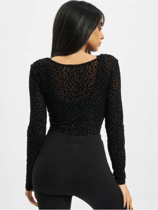 Urban Classics Body Ladies Flock Lace čern
