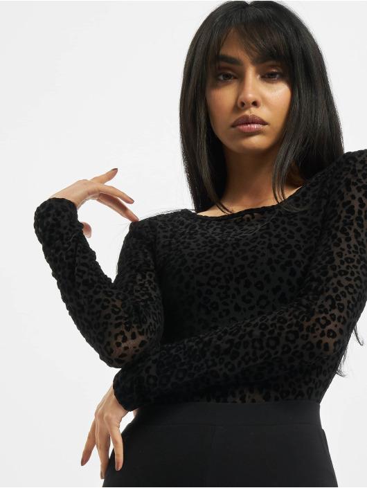 Urban Classics Body Ladies Flock Lace czarny