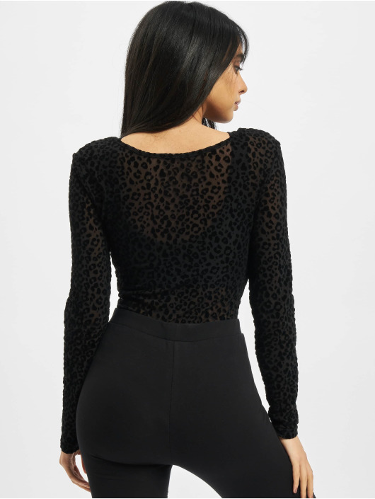 Urban Classics Body Ladies Flock Lace zwart