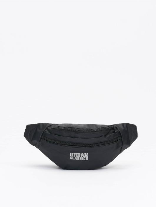 Urban Classics Bolso Recycled Ribstop Double Zip Shoulder negro
