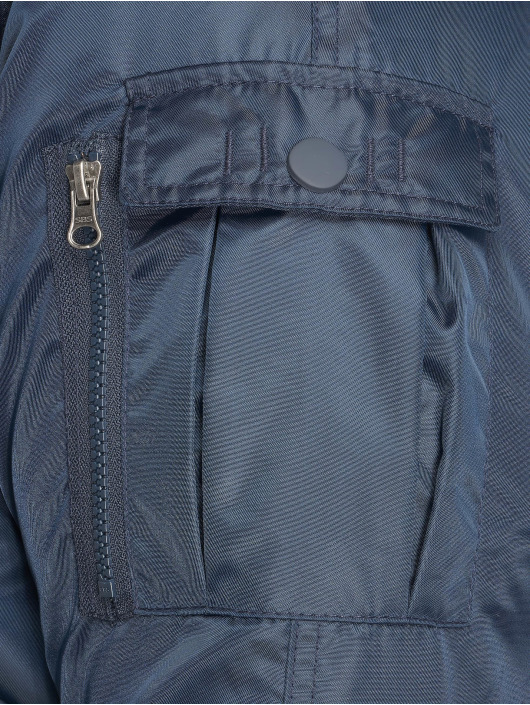 Bomber Urban Heavy Bleu Fur 400528 Homme Hooded Fake Classics Eb2eDHIWY9