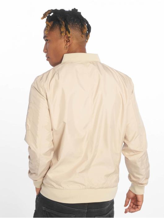 Urban Classics Bomber jacket Light beige