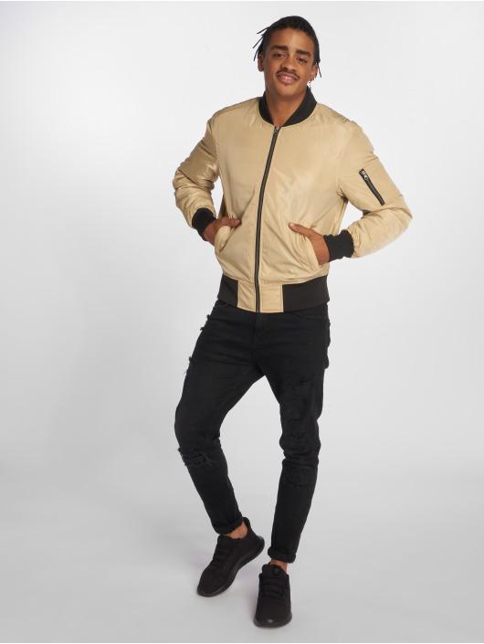Urban Classics Bomber jacket 2-Tone beige