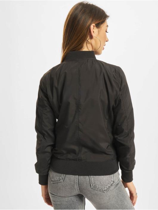 Urban Classics Bomber jacket Ladies Light Bomber black