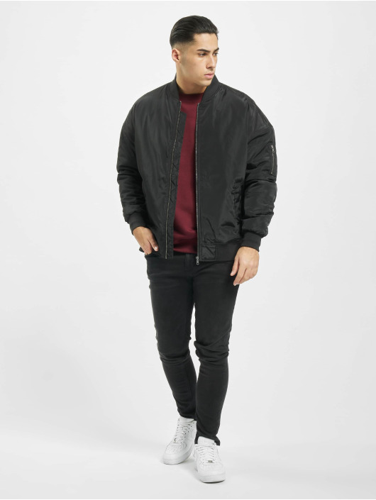 Urban Classics Bomber jacket Oversized black