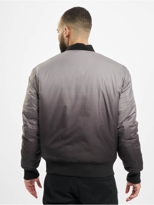 Urban Classics Bomber jacket Gradient black