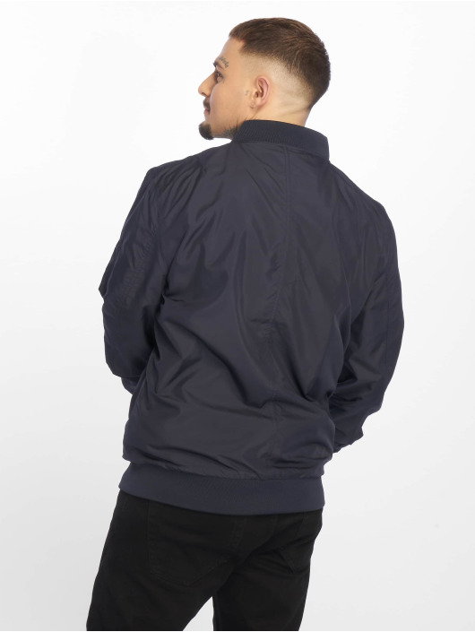 Urban Classics Bomber jacket Light Bomber blue