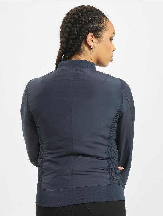 Urban Classics Bomber jacket Ladies Light blue