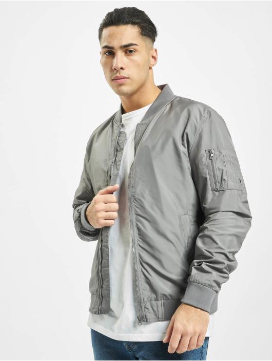 Urban Classics Bomber jacket Light gray