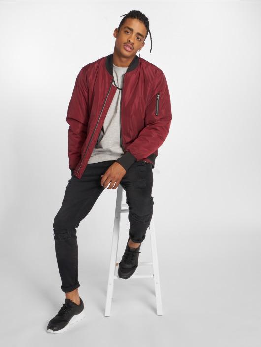 Urban Classics Bomber jacket 2-Tone red