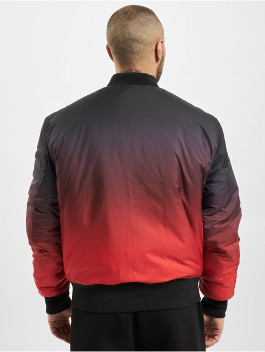 Urban Classics Bomber jacket Gradient red