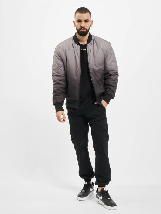 Urban Classics Bomberjacka Gradient svart