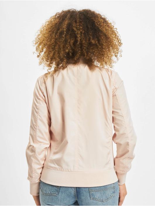 Urban Classics Bomberová bunda Ladies Light ružová