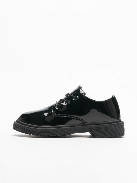 Urban Classics Boots Low Laced negro