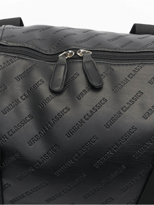 Urban Classics Borsa Imitation Leather Weekender nero