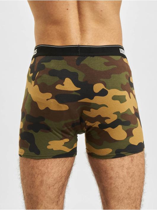 Urban Classics Boxer Short 2-Pack Camo camouflage