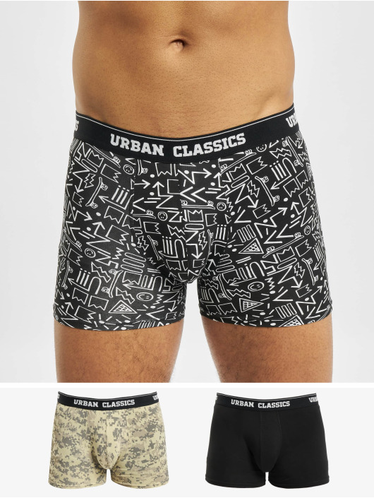 Urban Classics Boxer Short 3-Pack camouflage
