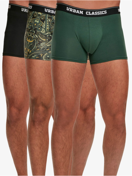 Urban Classics Boxer Short 3-Pack green